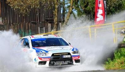 Pięć rajdówek Mitsubishi w top 10!