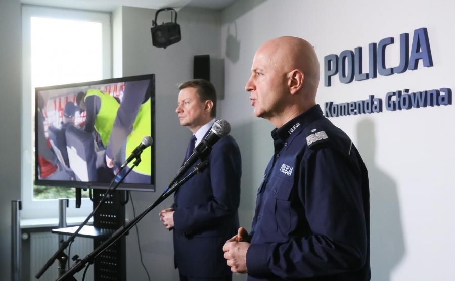 Jarosław Szymczyk i Mariusz Błaszczak