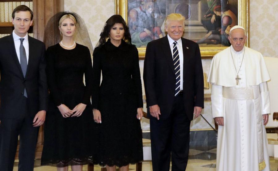 Donald Trump u Franciszka