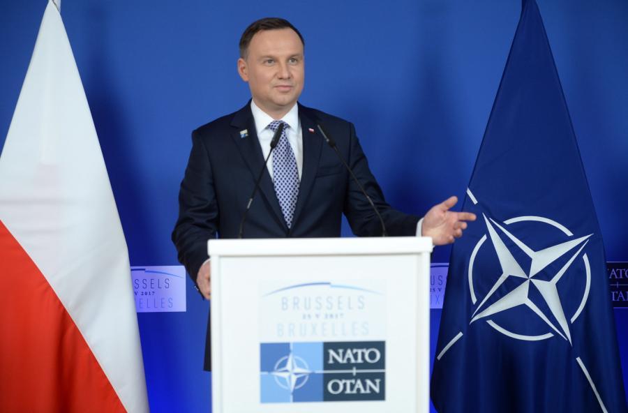 Andrzej Duda prezydent NATO