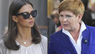 Kinga Rusin, premier Beata Szydło