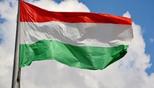 Węgry flaga Węgier