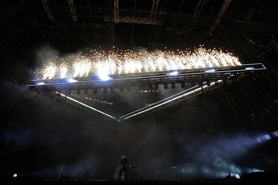 Weeknd na festiwalu Open'er 2017. 30.06.2017