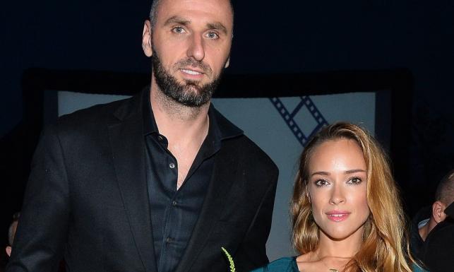 Alicja Bachleda-Curuś i Marcin Gortat na festiwalu filmowym w Zakopanem