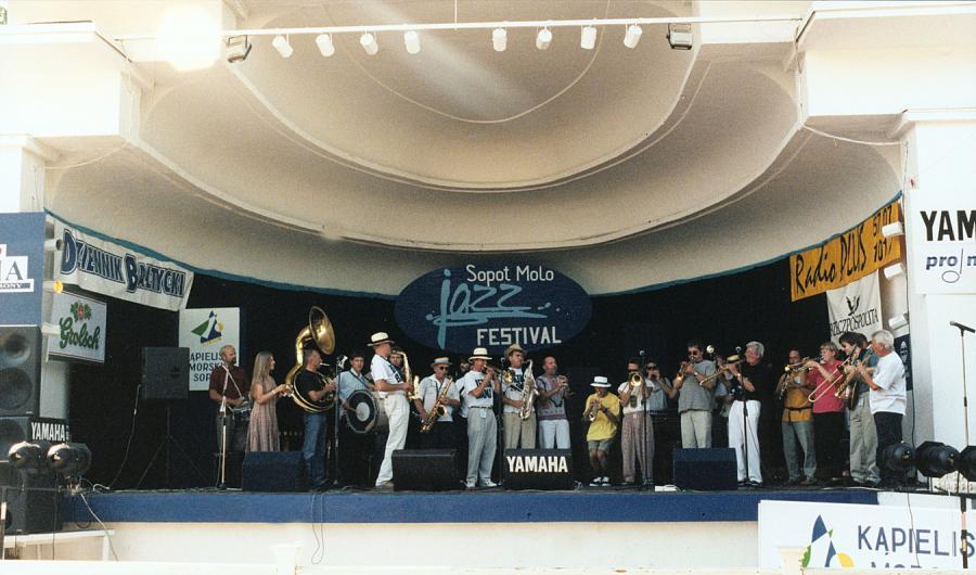 Festiwal jazzowy na sopockim molo