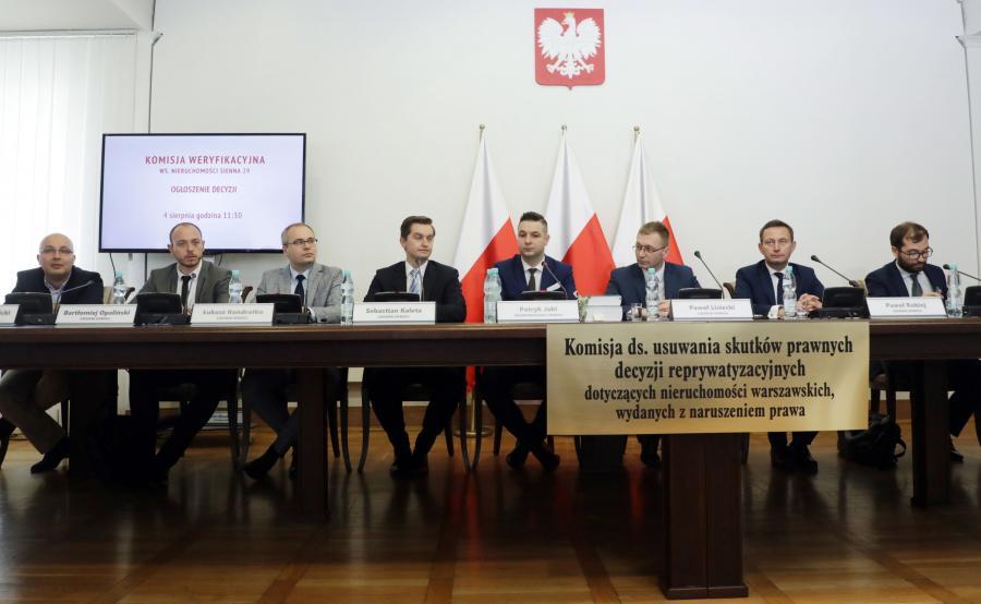 Komisja ds. reprywatyzacji w Warszawie