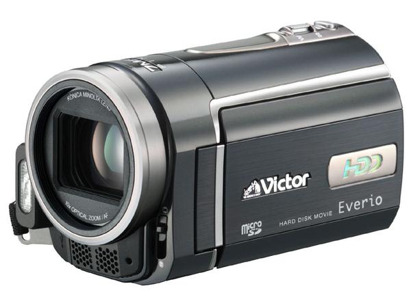 JVC VICTOR Everio -pierwsza kamera z dyskiem twardym 1.3 cala