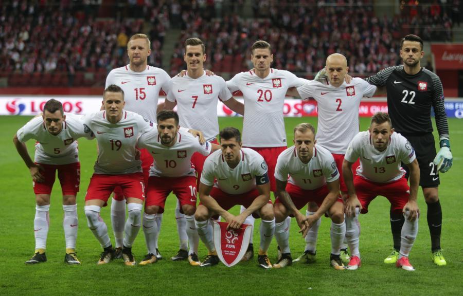 Polska reprezentacja przed meczem z Kazachstanem