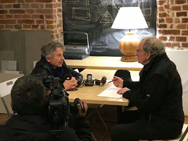 Roman Polański i Ryszard Horowitz / fot. Łukasz Kazek