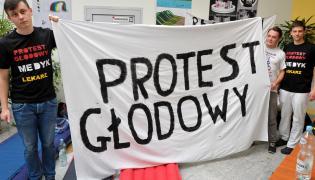 Protest rezydentów
