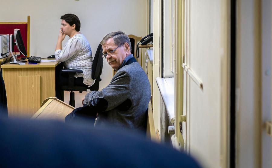 Krzysztof Janik w sądzie