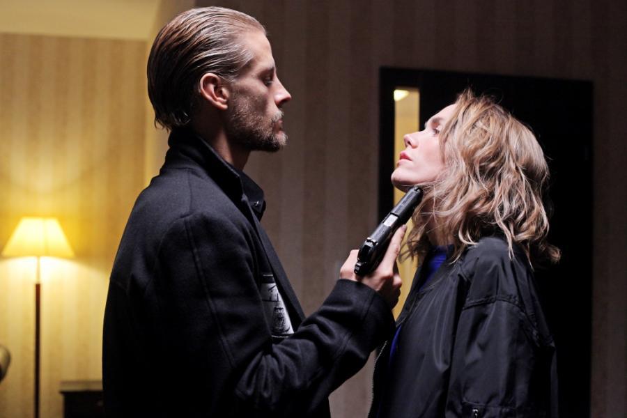 Sebastian Fabijański oraz Agnieszka Dygant w filmie Patryka Vegi \