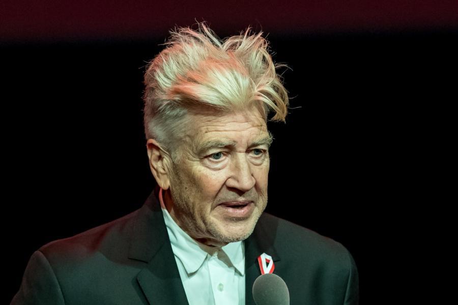 Amerykański reżyser filmowy David Lynch podczas gali otwarcia 25. Międzynarodowego Festiwalu Sztuki Autorów Zdjęć Filmowych Camerimage 2017