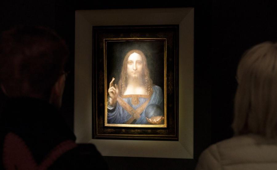 Zbawiciel świata Leonarda Da Vinci