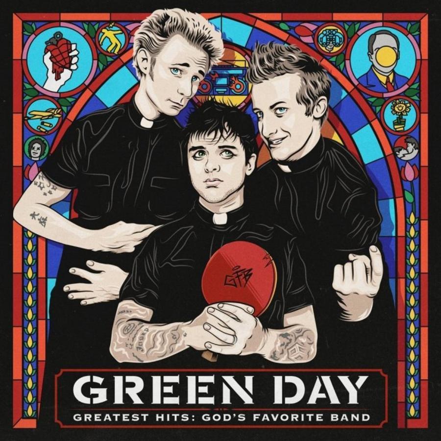 """Green Day przedstawia największe przeboje w albumie """"Greatest Hits: God's Favorite Band"""". Tytuł składanki pochodzi od wypowiedzi wielkiej gwiazdy amerykańskiej telewizji, Stephena Colberta, który zapowiadając występ Green Day w swoim programie, użył sformułowania """"God's favorite band"""" - Ulubiony zespół Pana Boga. Na płycie 22 hity - uczta dla fanów formacji. (nie płać więcej niż 61 złote) Green Day – """"Greatest Hits God's Favourite Band""""; Warner Music Polska 2017"""