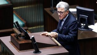 Przewodniczący sejmowej komisji sprawiedliwości i praw człowieka, poseł KP PiS Stanisław Piotrowicz