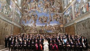 Papież Franciszek i dyplomaci