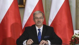Zaprzysiężony na stanowisko ministra inwestycji i rozwoju Jerzy Kwieciński