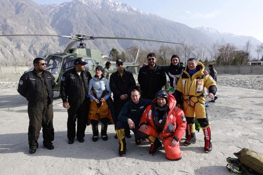 Rano do bazy pod K2 powrócili uczestnicy akcji ratunkowej na Nanga Parbat
