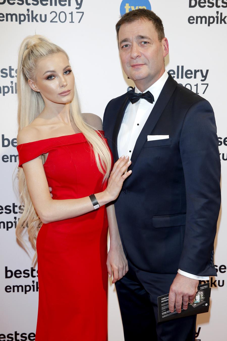Jacek Rozenek i Roxana Gąska