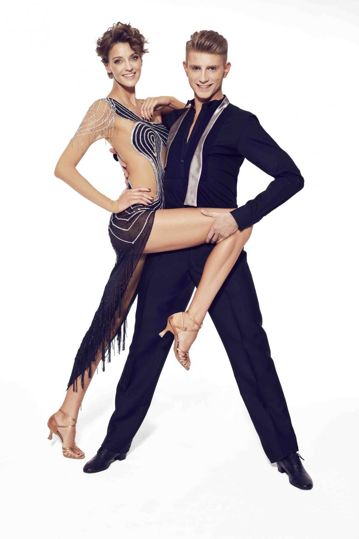 Taniec z gwiazdami: Renata Kaczoruk i Michał Jeziorowski / fot. Krzysztof Opaliński