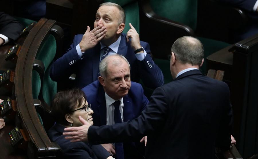 Grzegorz Schetyna, Sławomir Neumann, Ewa Kopacz