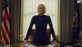 "Robin Wright w 6. sezonie ""House of Cards"""
