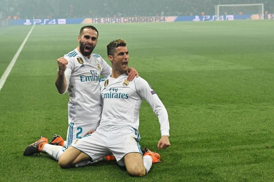 Cristiano Ronaldo i Dani Carvajal