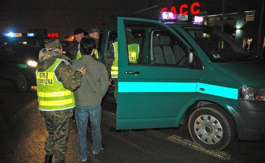 Akcja Straży Granicznej w Wólce Kosowskiej
