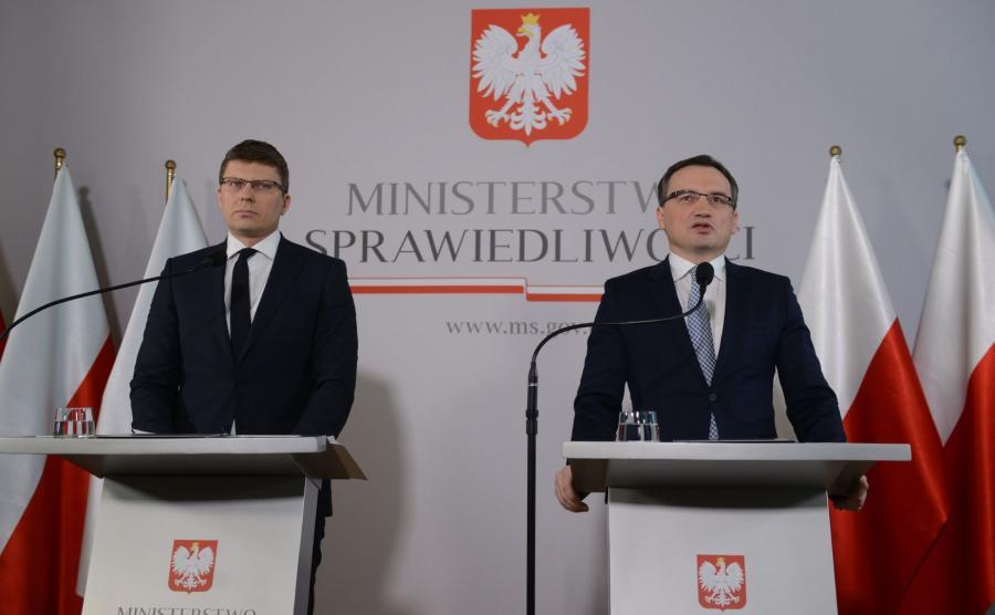 Zbigniew Ziobro i Marcin Warchoł