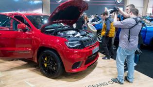 Jeep Grand Cherokee Trackhawk zadebiutował w Poznaniu. Motor Show odwiedziło ponad 151 tysięcy zwiedzających. Już pierwszego dnia show przyciągnęło znacznie więcej osób niż rok wcześniej