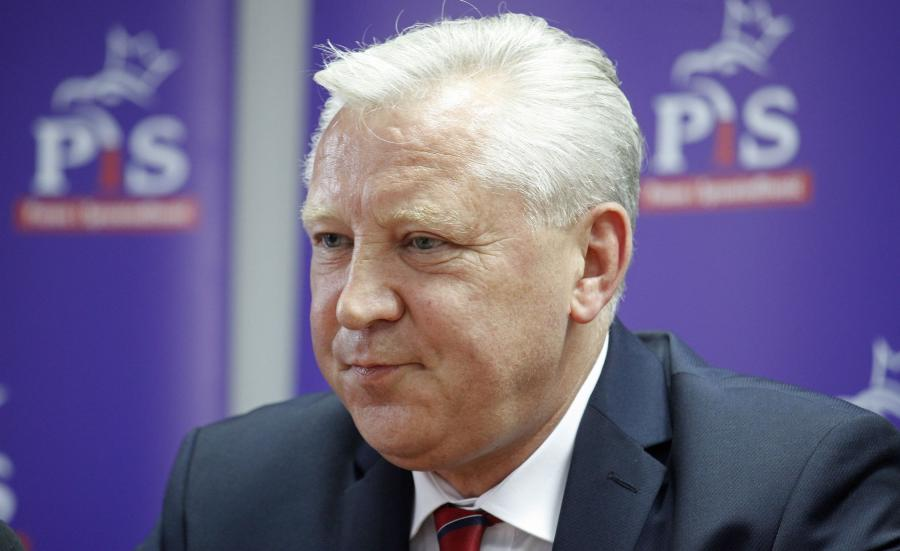 Senator PiS Jan Dobrzyński