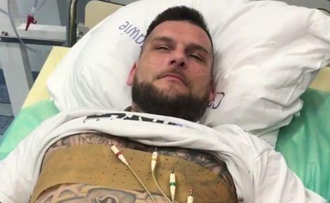 Popek w szpitalu
