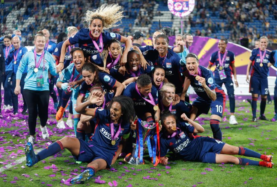Piłkarki z Lyonu wygrały Ligę Mistrzów