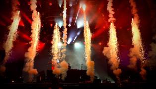 Axwell Ingrosso podczas Orange Warsaw Festival. 2 czerwca 2018
