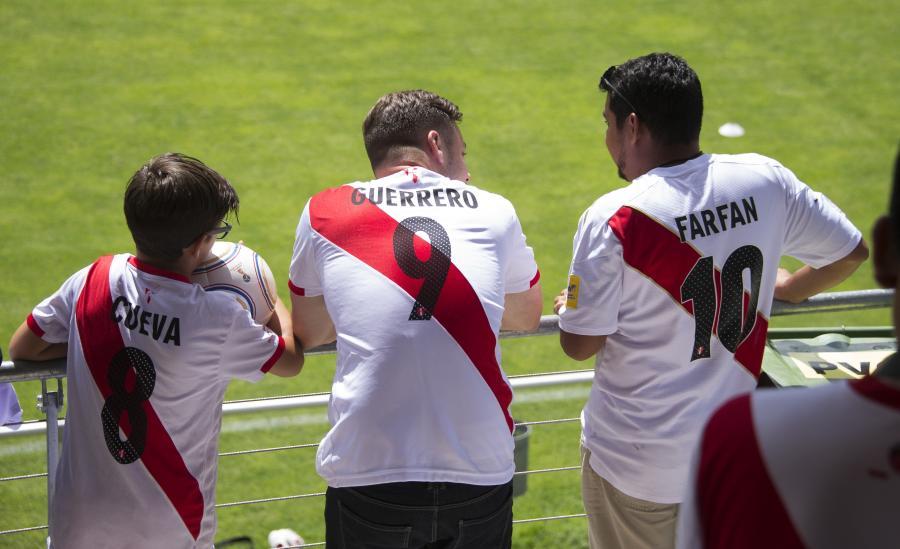 Kibice reprezentacji Peru