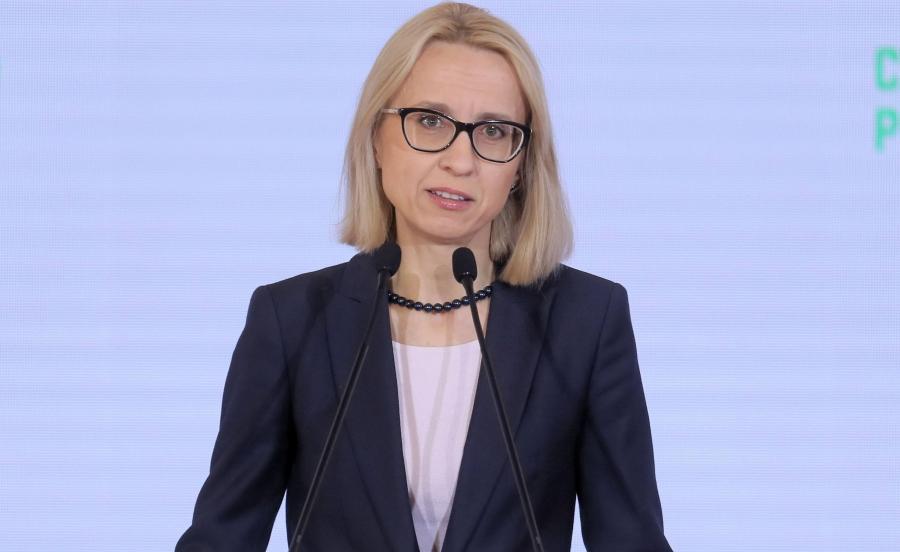 Minister finansów Teresa Czerwińska