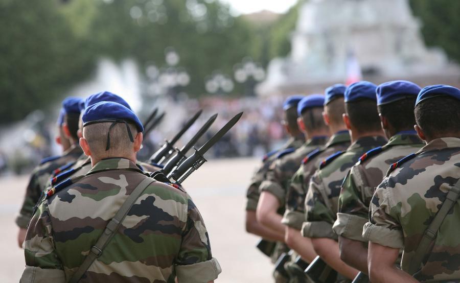 Francuscy żołnierze