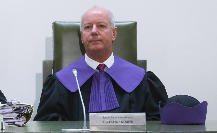 Sędzia Krzysztof Staryk