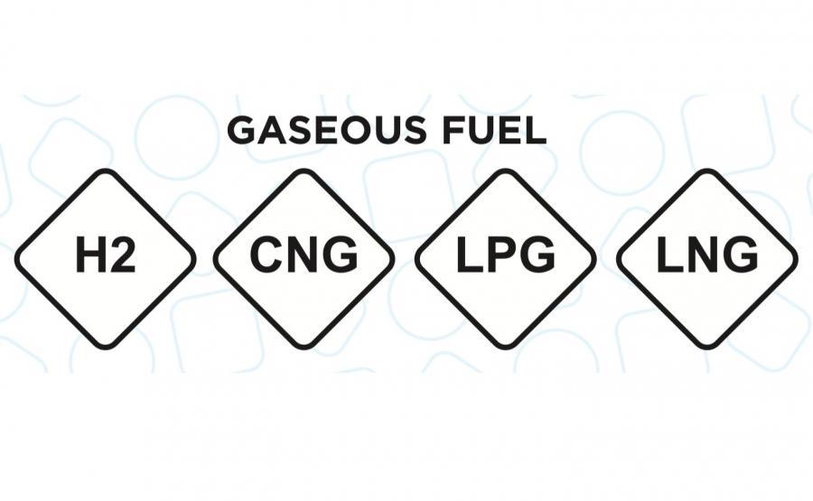 Gaz zamknięty w rombie