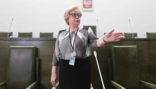 Małgorzata Gersdorf w Sądzie Najwyższym