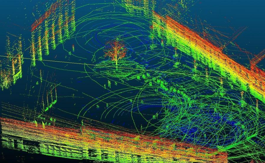 W Jaworznie eksperci ITS i firmy z Comtegra tworzyli mapę punktów – wirtualny, ale realny świat, w którym będą poruszać się samochody bez kierowcy
