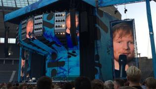 Ed Sheeran koncert fot. N. Ryńska