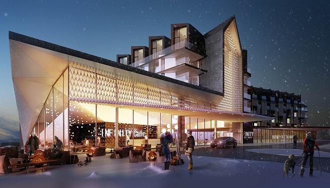 INFINITY Zieleniec ski & spa - aparthotel o najwyższym standardzie
