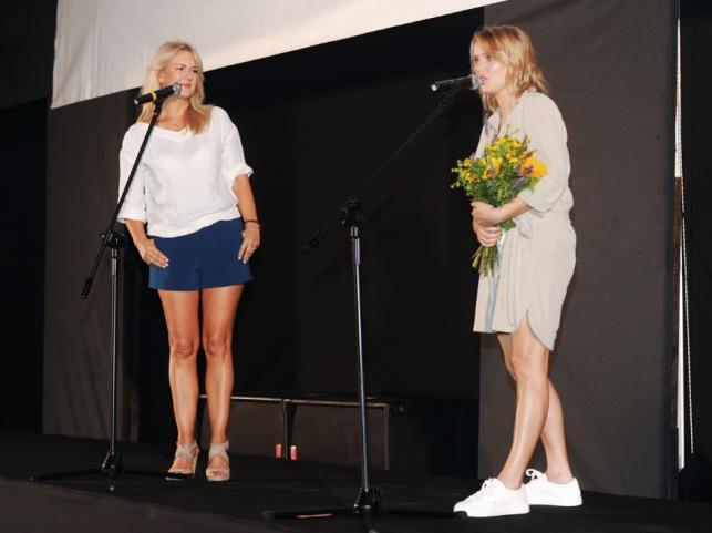 Grażyna Torbicka i Joanna Kulig