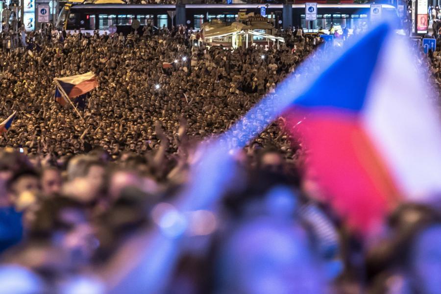 Koncert w Pradze z okazji rocznicy inwazji na Czechosłowację