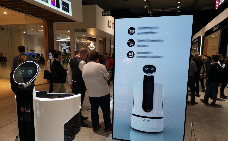 Robot zakupowy LG