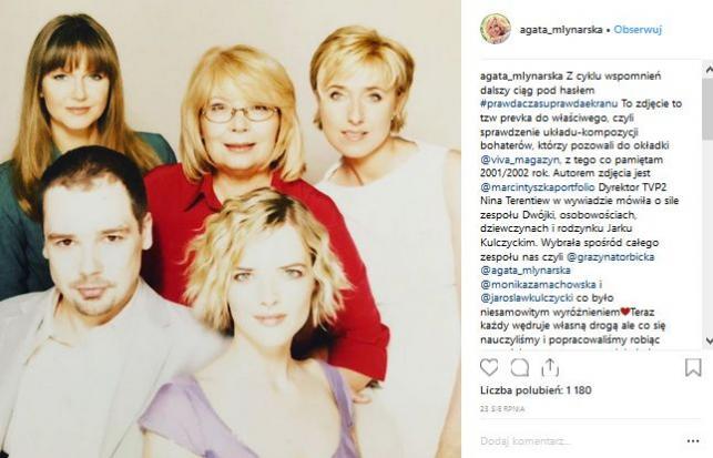 Instagram Agaty Młynarskiej