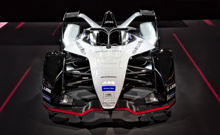 Elektryczny bolid Formuły E