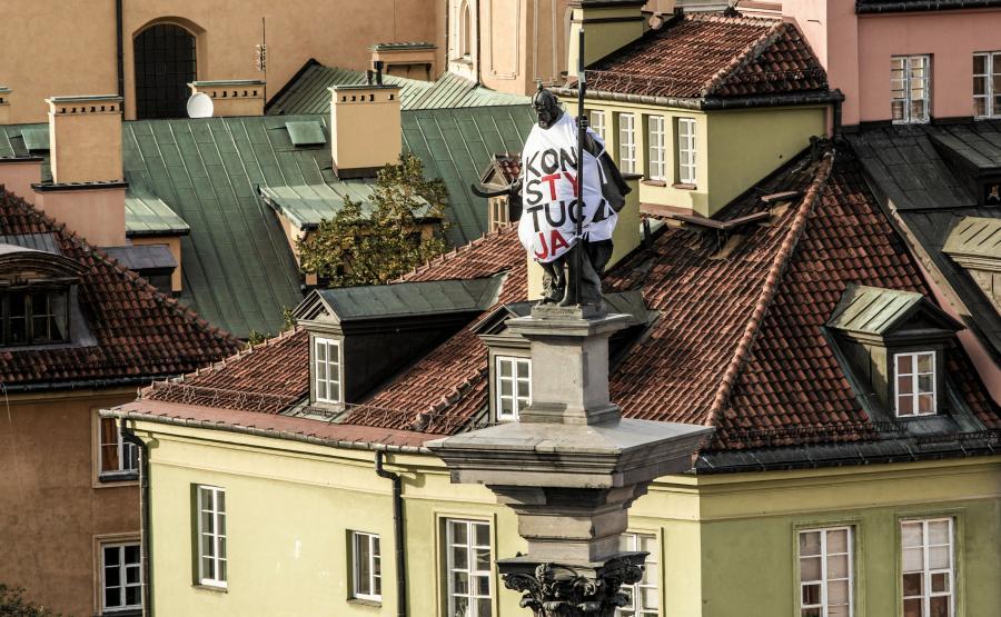 Figura Zygmunta III Wazy w koszulce \